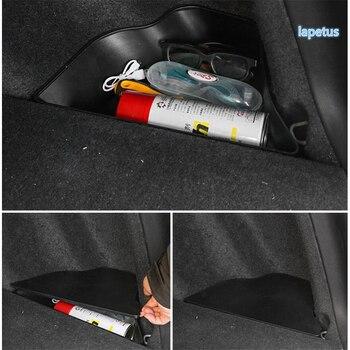 Lapetus Fire Extinguisher Cup Support Holder Case Frame Cover Trim Fit For Honda CRV CR-V 2017 2018 2019 2020 Interior Refit Kit