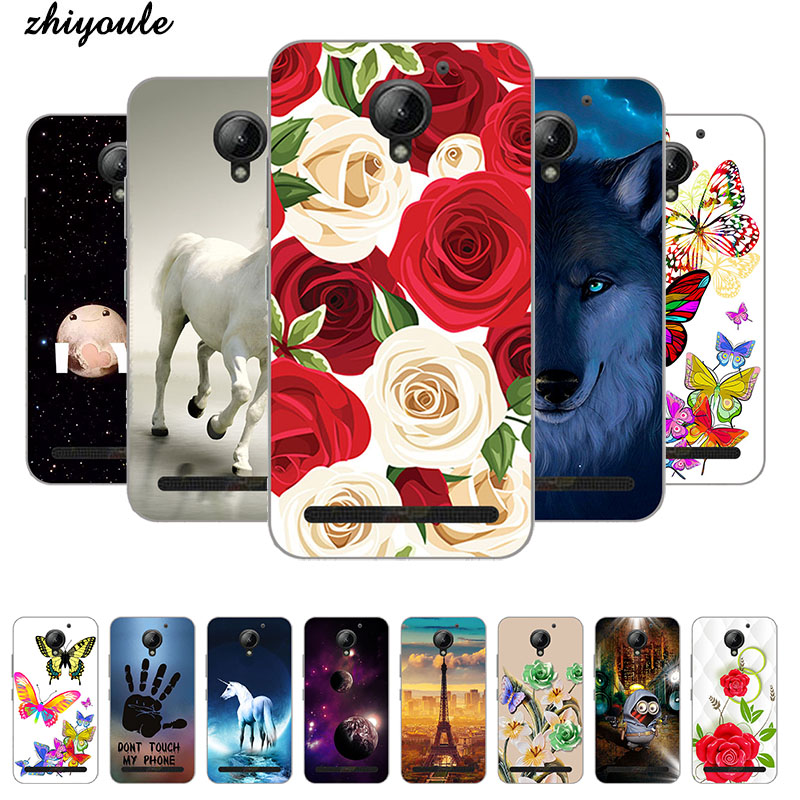 for <font><b>Lenovo</b></font> Vibe <font><b>C2</b></font> <font><b>K10A40</b></font> <font><b>Case</b></font> Printing TPU <font><b>Case</b></font> Cover for <font><b>Lenovo</b></font> <font><b>C2</b></font> <font><b>Phone</b></font> <font><b>Case</b></font> Silicon <font><b>Phone</b></font> Cat Landscape Protective Fundas image