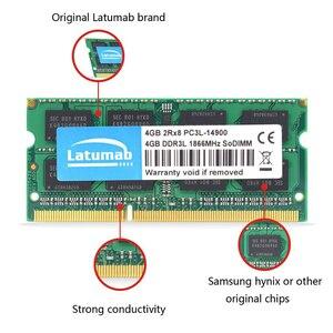 Image 5 - Latumab RAM DDR3L 4GB 8GB 1866MHz 1600MHz 1333MHz 1066MHz 노트북 메모리 SODIMM 1.35V 노트북 메모리 Memoria DDR3 RAM 모듈