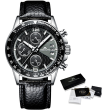 MEGALITH Fashion Watches Men Sports Waterproof Chronograph