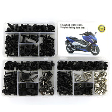 For Yamaha TMAX 530 TMAX530 2012 2019 Complete Full Fairing Bolts Kit Bodywork Screws Steel Clips Speed Nuts Covering Bolts