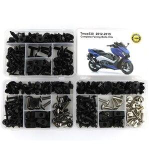 Image 1 - Kit completo de tornillos de carenado para carrocería, Tuercas de velocidad, tornillos para carrocería, para Yamaha TMAX 530, TMAX530, 2013 2019