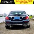 Для Mercedes Benz W213 AMG 2015-2018 ABS спойлер автомобильное украшение в виде хвостового крыла задний спойлер багажника для Mercedes W213 E Class