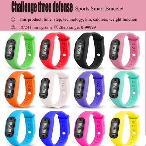 Discounted New Sports Pedometer Watch Bracelet Display Fitness Meter Step Count Tracker Digital LCD Silicone Step Count Calorie Counter — stackexchange