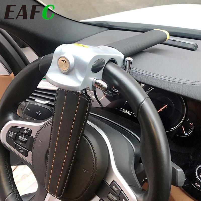 Auto Stuurslot Opvouwbare Auto Steering Lock Anti Diefstal Bescherming T-Sloten Beveiliging Auto Sloten Voor Auto Accessoires