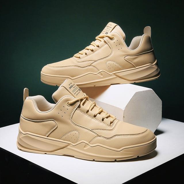 Gündelik erkek ayakkabısı klasik erkek koşu ayakkabıları moda spor ayakkabı artan büyük boy erkek ayakkabıları rahat nefes