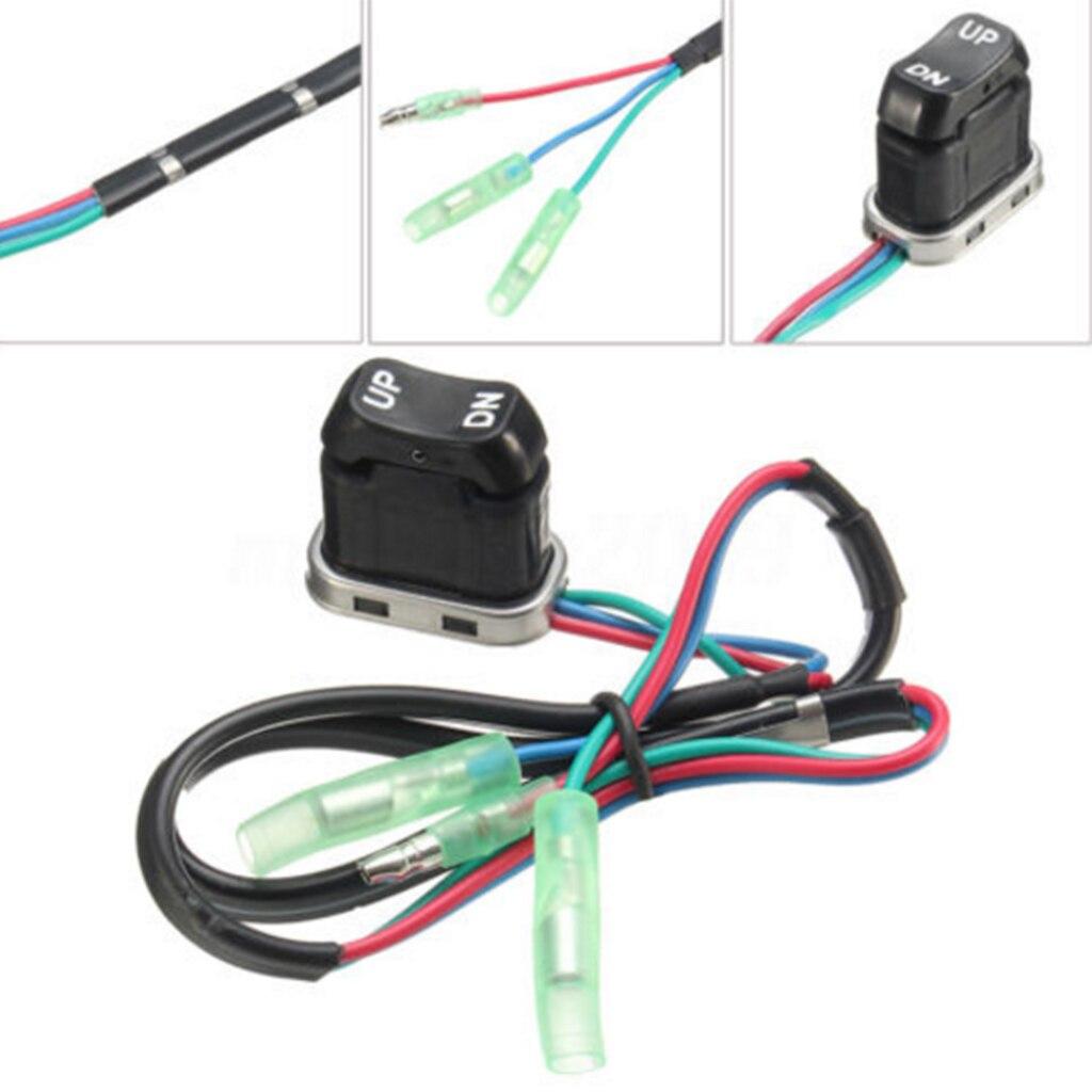 Marine Trim-Tilt Switch For Yamaha Outboard Remote 703-82563-02 703-82563-01