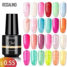 ROSALIND – vernis à ongles Gel fromage flocon de neige série bonbons 7ML Nail Art Design manucure hybride Semi-Permanent 72 couleurs