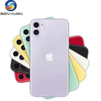 "Original Apple iPhone 11 4G LTE Mobile Phone Unlocked 6.1"" Retina Display Dual Camera 64/128/256GB CellPhone A13 IOS SmartPhone 1"