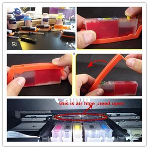 Image 5 - Refill PGI 580 cli 581 Empty refillable ink cartridge permanent chip For canon PIXMA TS705 TS6150 TS6250 TR7550 TR8550 TR9550C