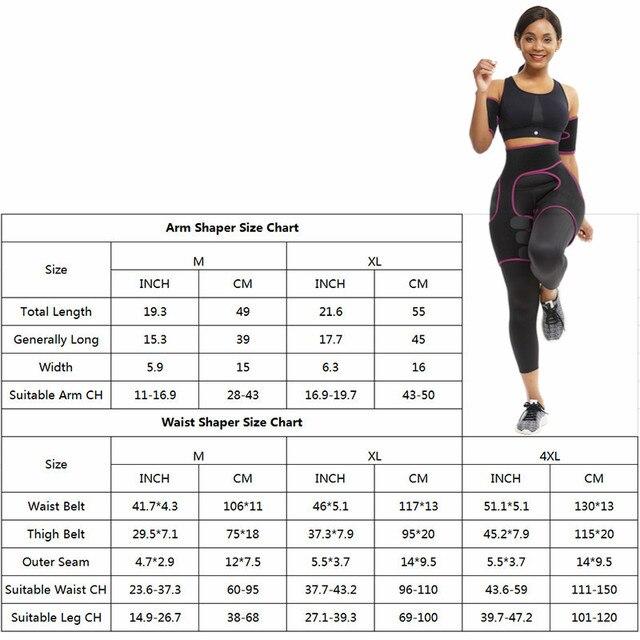 Feelingirl Arm Shaper for Women Fat Burner Shapewear Body Shapers Belt Wraps Ultra Sweat Warmers Slimmer Arm Leg Trimmers Wraps 5