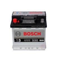 Аккумулятор Bosch S3 12v 45ah 400a Etn 1(L) B13 207x175x190mm 11.43kg Bosch арт. 0092S30030
