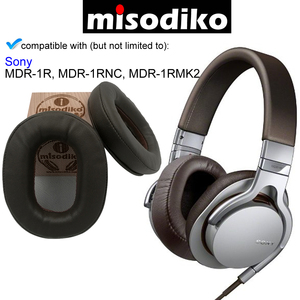 Image 4 - Kit Kit de Substituição Ear Pads Almofada para Sony MDR 1R misodiko, MDR 1RBT, MDR 1RNC, MDR 1RMK2, peças de Reparo de fones de ouvido Earpads
