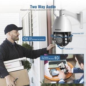 Image 3 - HD 2MP Draadloze PTZ Dome IP Cam WIFI 10X/20X Optische Zoom Outdoor Beveiliging Video CCTV Cam Twee Manier audio Wit Licht 80M IR
