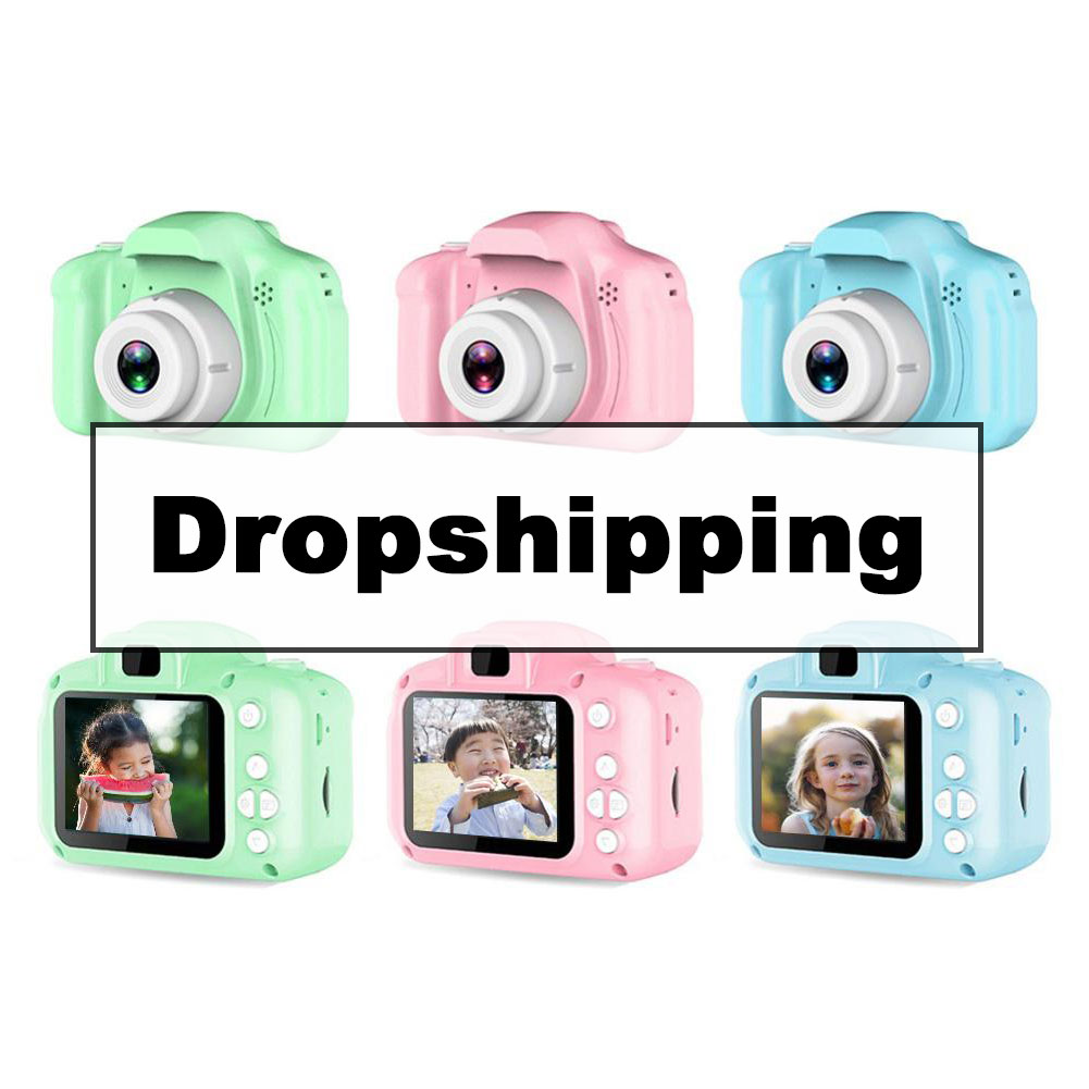 Rechargeable Kids Mini Digital Camera 2.0 Inch HD Screen Video Recorder Color Display Educational Toys For Children Baby Gift