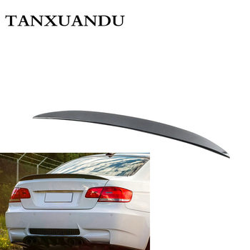 Two Door Style Painted Gloss Black ABS Rear Trunk Lip Spoiler Wing 191024 Type Fit For 3 Series BMW E92 Coupe M3 Coupe 2008-2013 image
