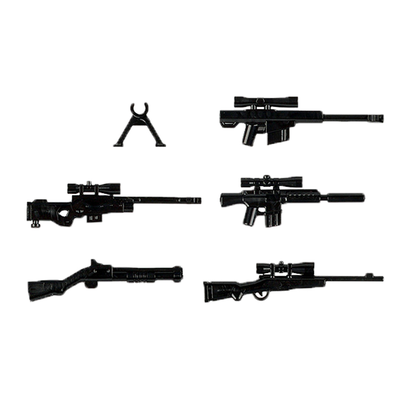 lego military weapons guns blocks 1