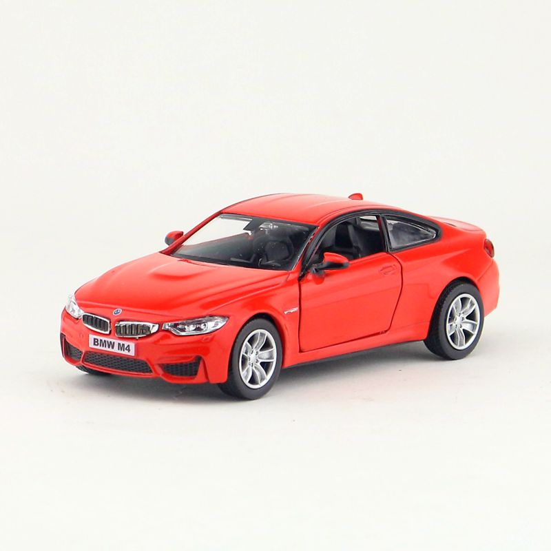 High Simulation Exquisite Diecasts & Toy Vehicles: RMZ City Car Styling M2 And M4 1:36 Alloy Diecast Car Model Pull Back Cars