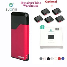 Original Suorin Air Starter Kit 400mAh Built-in Battery W/ 2ml Cartridge Portable Size & Power Indicator Light E-cig Vaping Kit