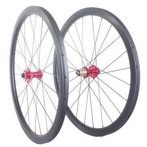 Image 2 - Disc brake carbon road wheels carbon bike wheelset 35mm 38mm 50mm 60mm clincher tubular tubeless wheels