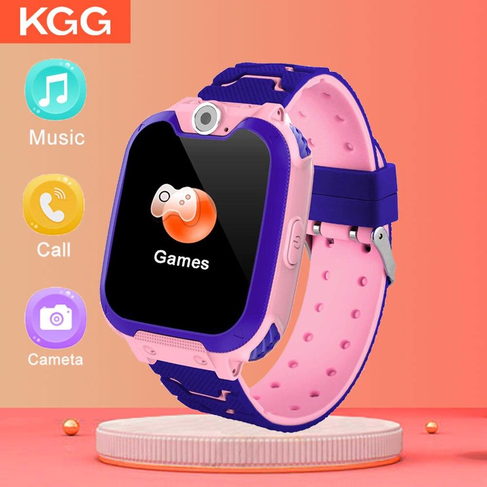 Kids Smart Watch Music Game Smartwatch Waterproof Children Smart Watch SOS Baby Watch Play Game Music Watch Boys Girls