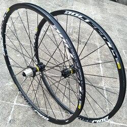 Roues d'origine vtt VTT 100*15/142*12MM CROSSRIDE scellé portant 26 27.5 29 pouces frein à disque roues de vélo