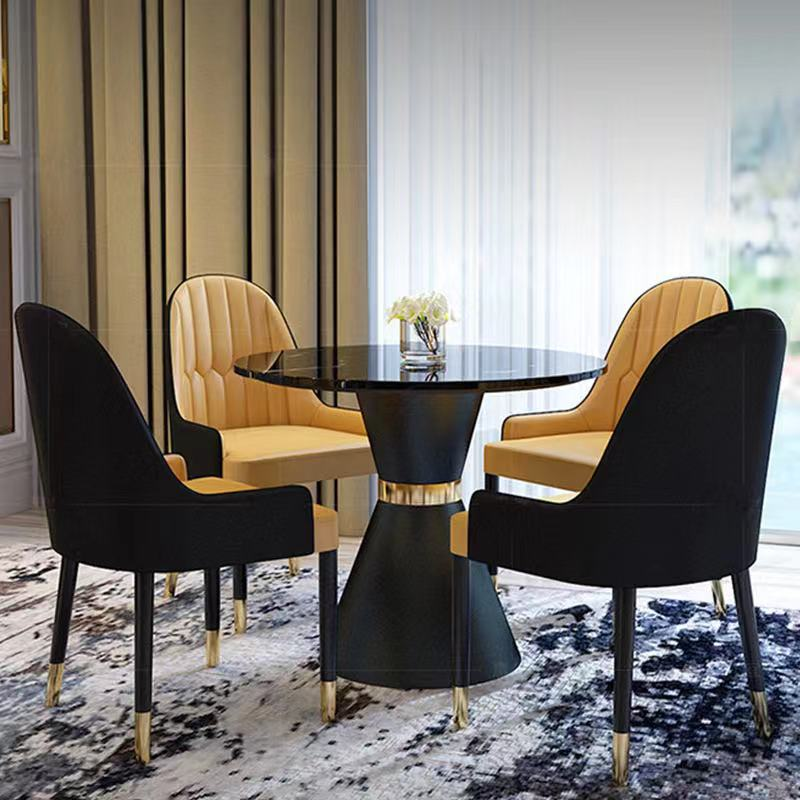Marble Small Round Table Conference Table Modern Simple Sales Office Exhibition Hall Guest Balcony Tables And Chairs Aliexpress