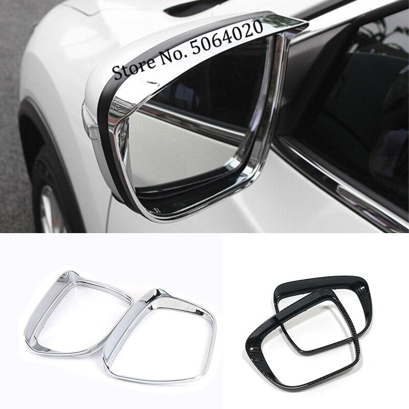 Накладки на зеркало заднего вида для Nissan X-Trail T32 Rogue 2014-2018
