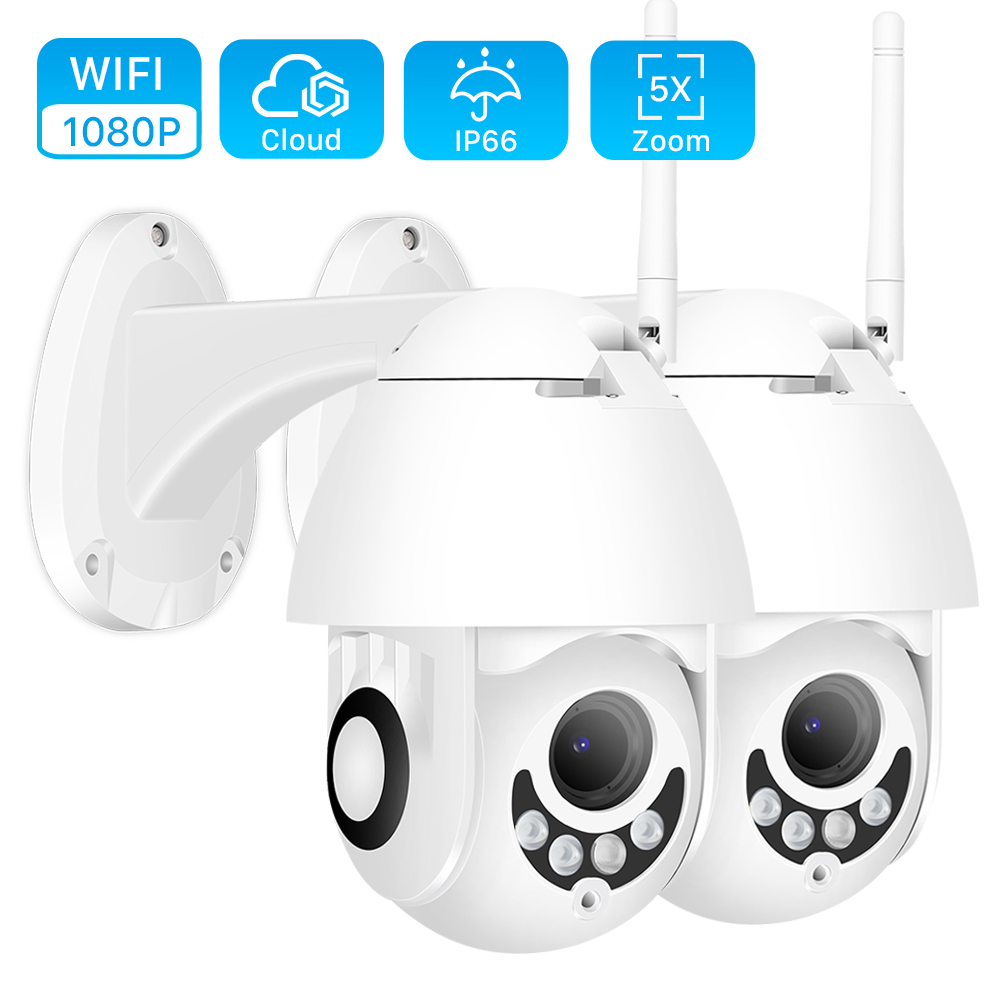 Dome Camera Optical-Zoom Security-Speed Two-Way-Audio Night-Vision 1080p Wifi Wireless