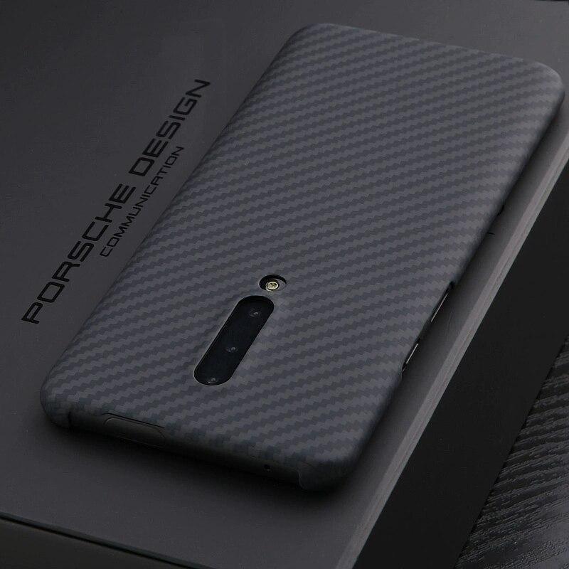 ENMOV Real Carbon Fiber Case Shockproof for Oneplus 8 Matte Carbon Fiber Shockproof Cover For Oneplus 8 Pro