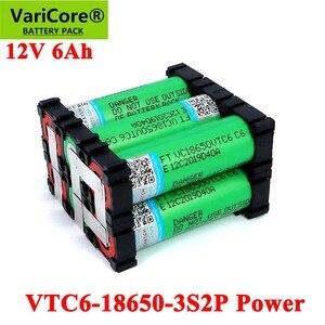 Image 1 - 11.1 فولت/12.6 فولت 18650 فولت VTC6 3s2p 6000 مللي أمبير 20 أمبير ل 12 فولت مفك لاسلكي بطاريات DIY بها بنفسك لحام بطارية حزمة