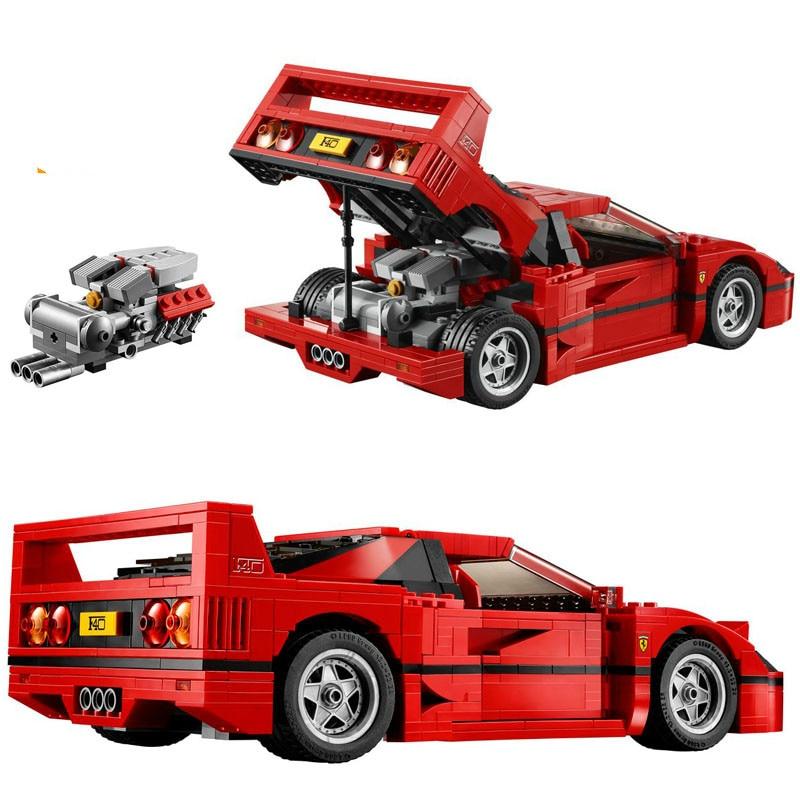 New 10248 1157pcs Technic Series The Ferrari F40 Sports Car Building Blocks Brick Educational Toys For Children Gift 10567