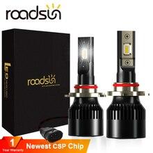 New arrival LED Headlight Blubs H7 H4 H1 H11 H3 H13 H27 880 9005 9006 CSP Chips 12V 6000K 12000LM/Pair Lamp Auto Bulb Light