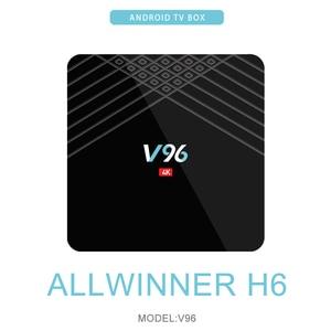 Image 2 - Оригинальная мини ТВ приставка Allwinner H6 четырехъядерный процессор Smart 4K UHD 2 ГБ 16 ГБ Android 9,0 OS Восьмиядерный WIFI IPTV медиаплеер телеприставка