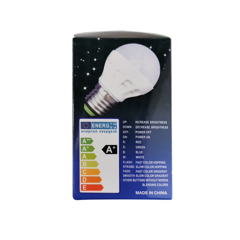 E27 светодиодный 20 Цвет RGB Волшебная светодиодная лампочка 3 Вт 85-265V RGB светодиодный лампа Spotlight + ИК-пульт дистанционного управления Управлени...