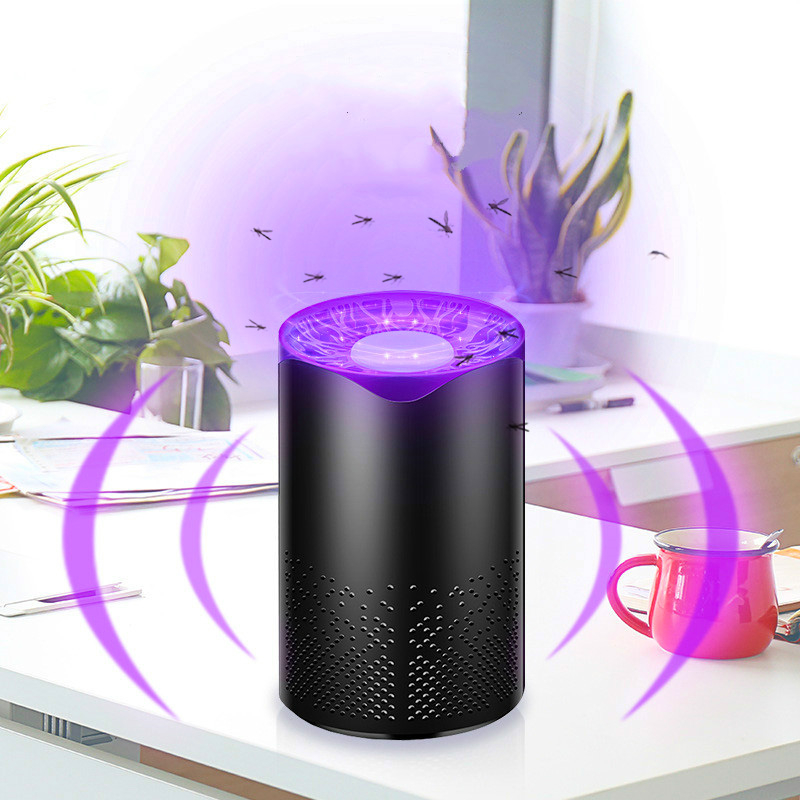 USB Mosquito Killer Lamp Trap LED Electric Trap Lamp Living Room UV Light Killing Lamp Mosquito Killer Insect
