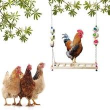 Bird-Accessories Parrots-Toys Bridge-Ladder Birdcage-Stand Parakeet-Cage Chicken-Swing