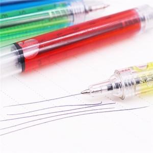Image 4 - Stylo à bille seringue étrange, 0.7MM, 50 pièces, pointe dencre bleue, cadeau pour enfants et Promotion scolaire