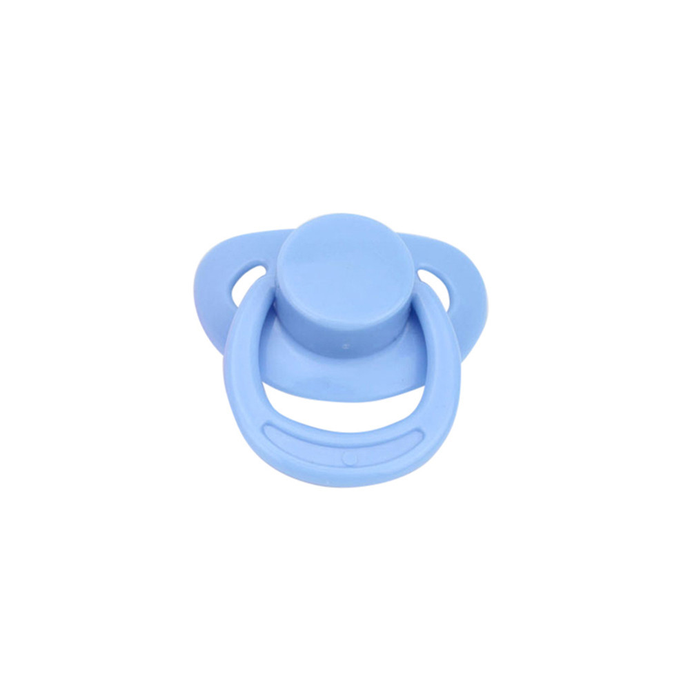 Blue Magnetic Pacifier Dummy For Reborn Baby Internal Magnet Dolls Accessories