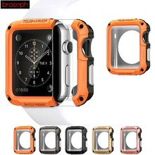 Screen Protector Shell Case for Apple Watch 38mm 42mm SGP TP