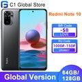 Глобальная версия Xiaomi Redmi Примечание 10 Note10 мобильный телефон 4 Гб 64 Гб/128 ГБ Snapdragon 678 Octa Core 5000 мАч 48MP Quad Camera