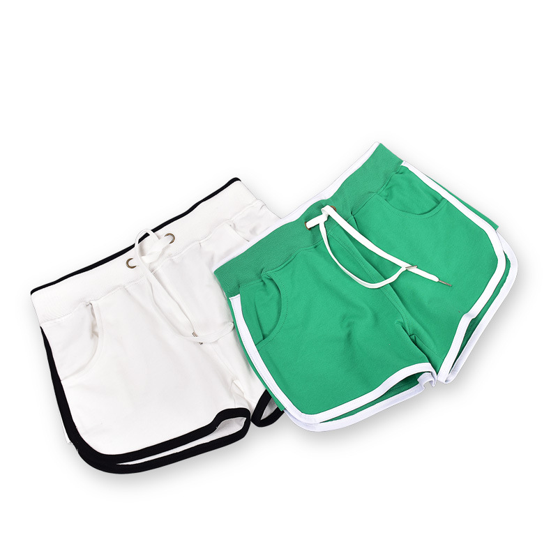 2020 New Women's Summer Thin Cotton Non-Curly Loose Shorts