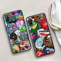 Funda de teléfono con pintura de Color para Honor 8A 9A 8X 9X Pro Lite X10 5G, Honor 10 20 Lite 20 30 Pro 10i 20i