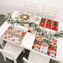 Рождественская елка шляпа Кухня столовых подставка обеденный
