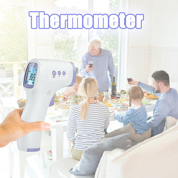 Infrared Thermometer No-contact Digital Thermometers Forehead Temperature Meter for Fevers ALI88
