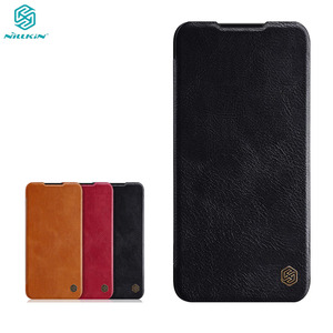 Image 1 - Tiểu Xiaomi Mi CC9 CC9e Nắp Đậy Nillkin Qin Vintage Da Flip Cover Thẻ Bỏ Túi Ví Dành Cho Tiểu mi Mi A3 Túi Đựng Điện Thoại