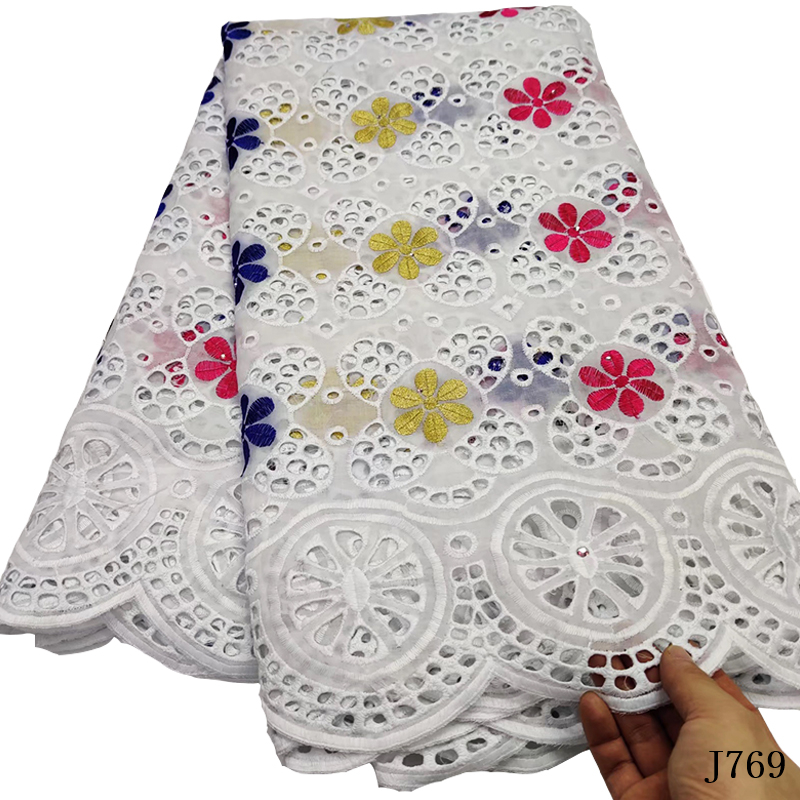 Or africain dentelle tissu 2019 haute qualité polonais dentelle suisse Voile nigéria robe de mariée sec dentelle tissu pour homme/femmes HA405