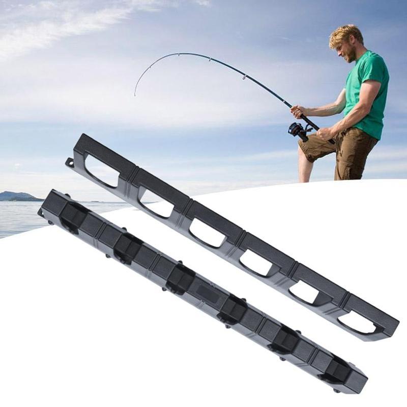 Wall Mounted Rod Rod Vertical  Fishing 6 Pole Rack Holder Fishing Modular Holder