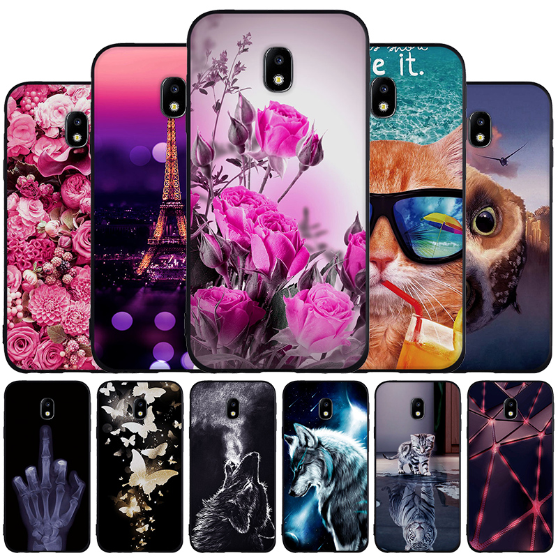 Case For <font><b>Samsung</b></font> J3 2017 Galaxy <font><b>SM</b></font>-J330 Case Thin TPU Soft Silicon For <font><b>Samsung</b></font> Galaxy J3 Pro 2017 Case <font><b>J330F</b></font>/<font><b>DS</b></font> J330G/<font><b>DS</b></font> Cover image
