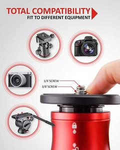 """Image 4 - ifootage A150S II profissional tripod for camera phone stand monopod for dslr match manfrotto 59"""" Aluminum Telescopin tripode"""